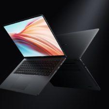 Xiaomi Notebook Pro X 15 Front- und Rueckseite