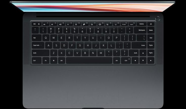 Xiaomi Notebook Pro X 15 Tastatur