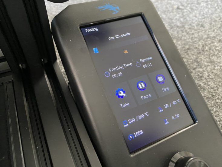 display ender-3 v2