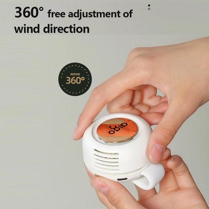 Mini-Clip-Ventilator 360°