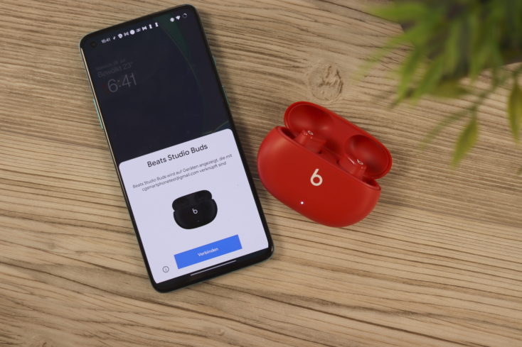 Beast Studio Buds mit Android