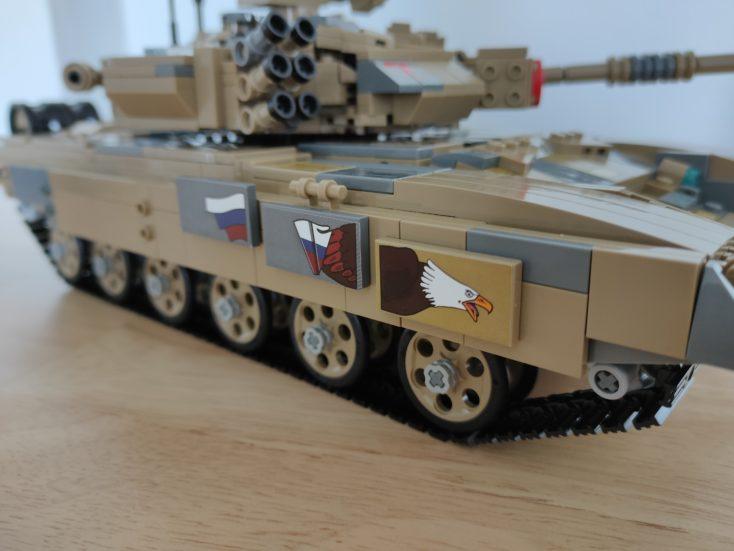CaDA T90 Panzer C61003W Aufkleber rechts