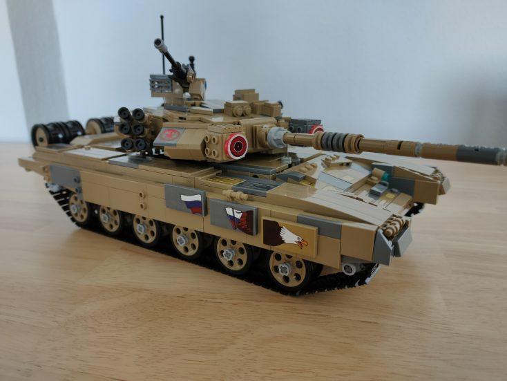 CaDA T90 Panzer C61003W mit Aufklebern 1