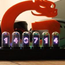 EleksTube IPS LED Uhr