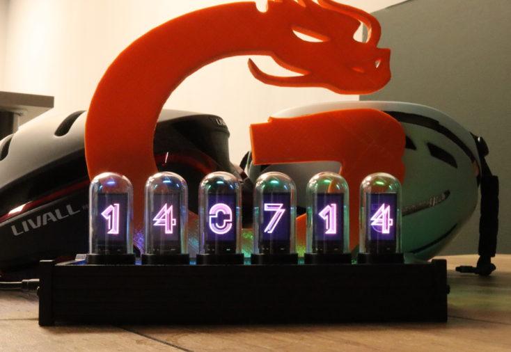 ElektsTube IPS LED Uhr