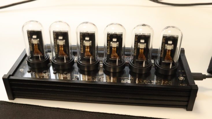 EleksTube IPS LED Uhr Rueckseite