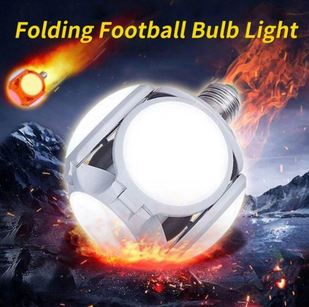 Faltbare LED Deckenleuchte Fussball Apokalypse