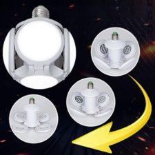Faltbare LED Deckenleuchte Umwandlung