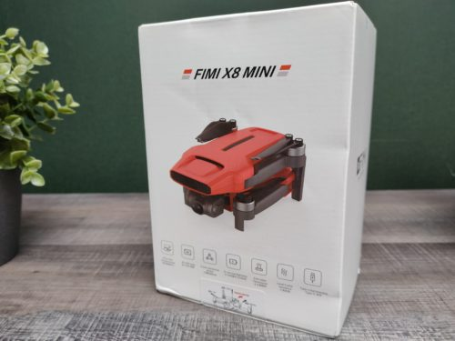 Fimi X8 Mini Karton Drohne in rot