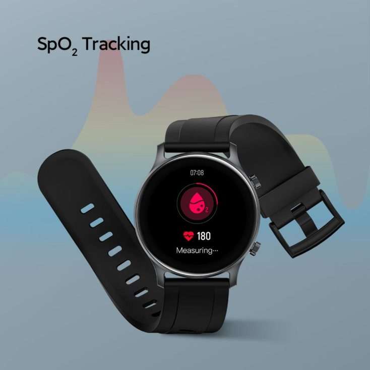 Haylou RS3 Smartwatch SpO2 Messung