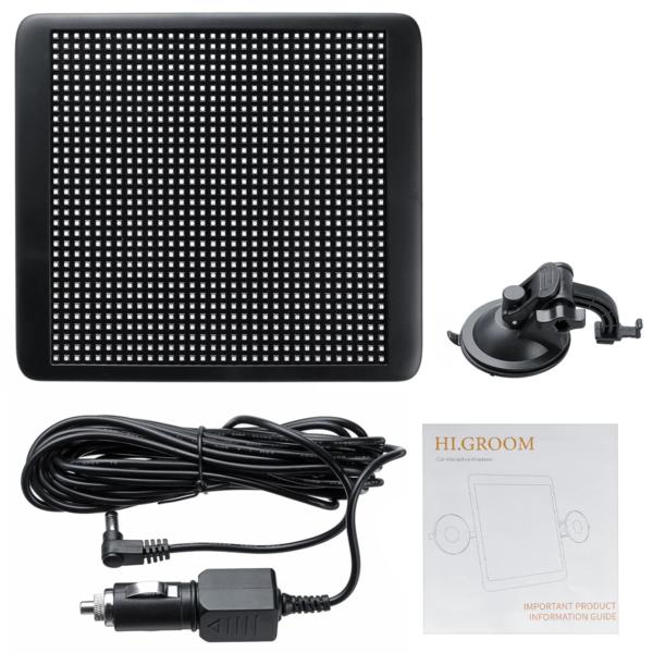 Hi.GROOM LED-Monitor Lieferumfang