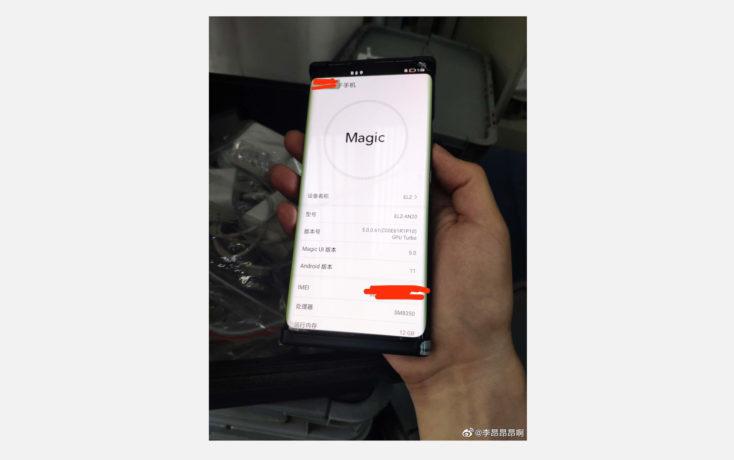 Honor Magic 3 5G Smartphone in Hand Leak