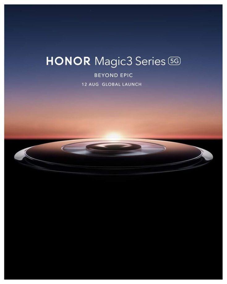 Honor Magic 3 5G Teaser