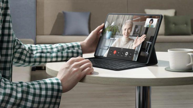 Huawei MatePad Pro 126 Zoll Videokonferenz
