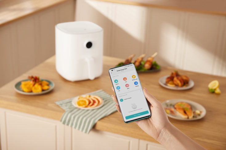 Mi Smart Air Fryer 3.5L Heißluftfritteuse App