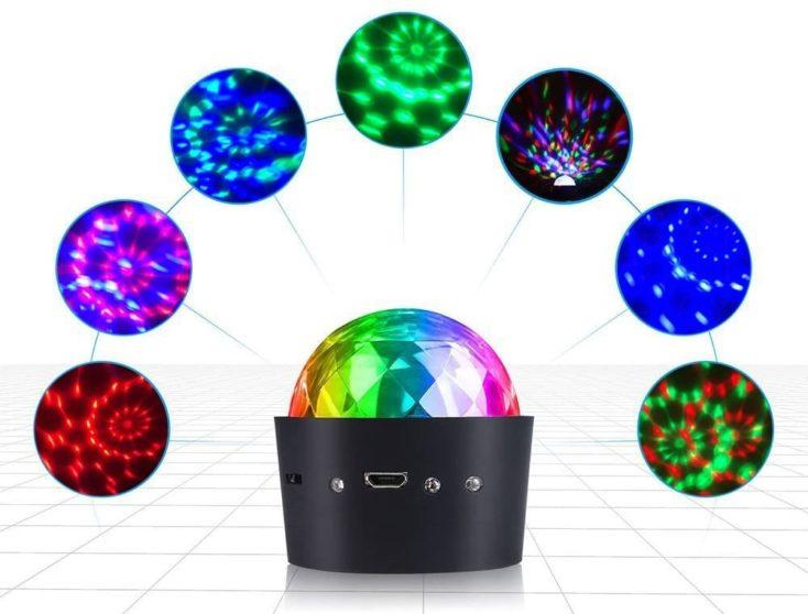 Mini Discokugel Farben