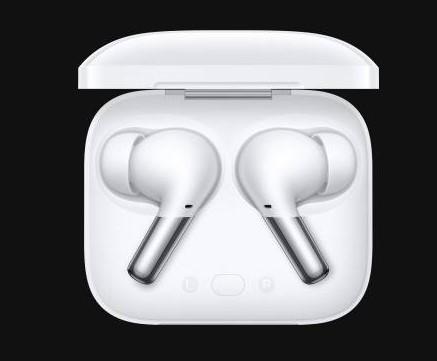 OnePlus Buds Pro Kopfhoerer in weiß im Gehäuse
