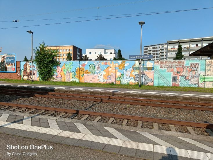 OnePlus Nord 2 5G Bahnhof Hautkamera