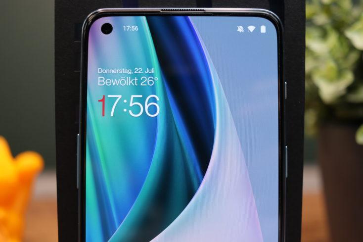 OnePlus Nord 2 5G Display nah