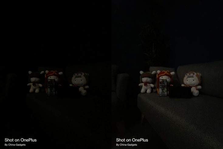 OnePlus Nord 2 5G Nachtmodus Ultraweit