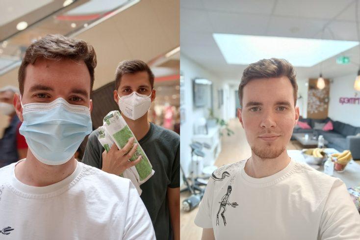 OnePlus Nord 2 5G Portrait Selfies