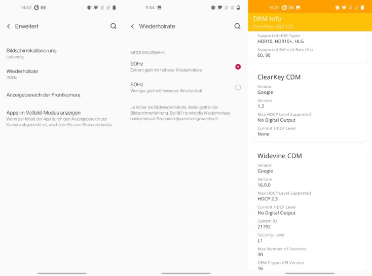 OnePlus Nord CE 5G Display Features