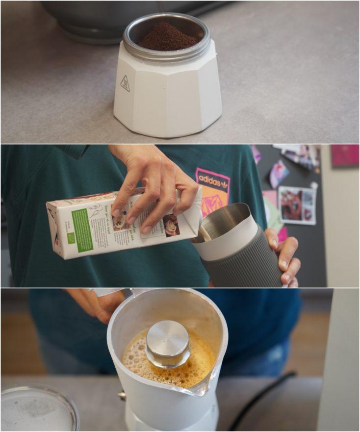 SEVENME Kaffeemaschine Kaffeezubereitung