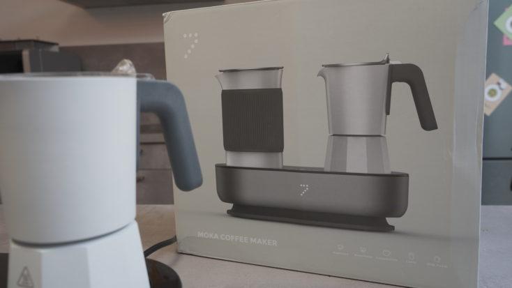SEVENME Kaffeemaschine Verpackung