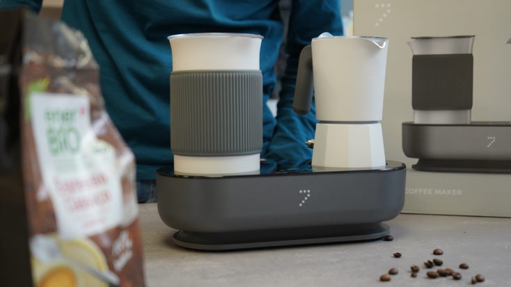 SEVENME Kaffemaschine Design