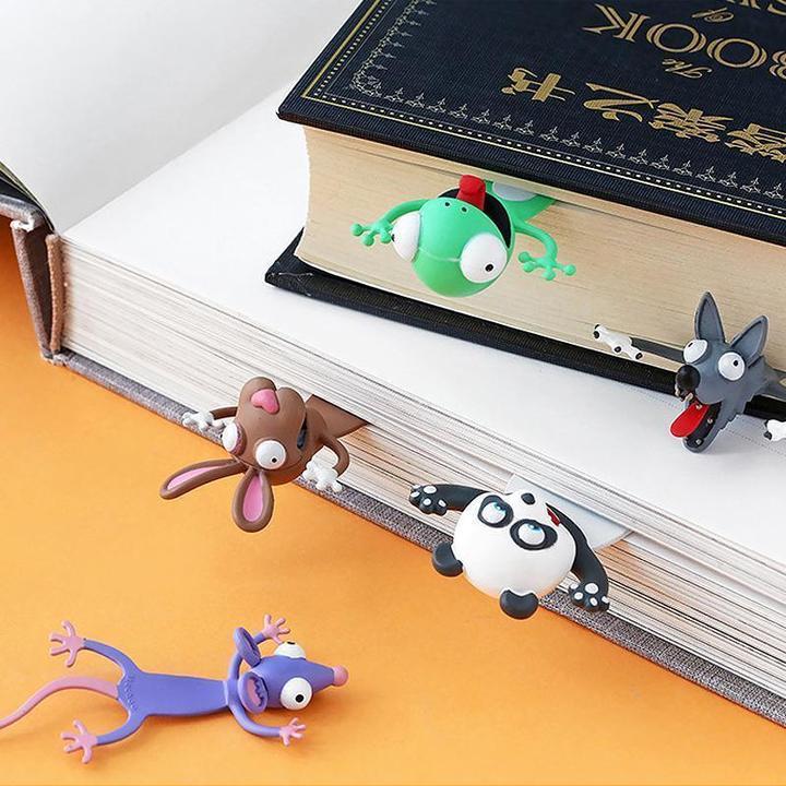 Tierlesezeichen im Buch