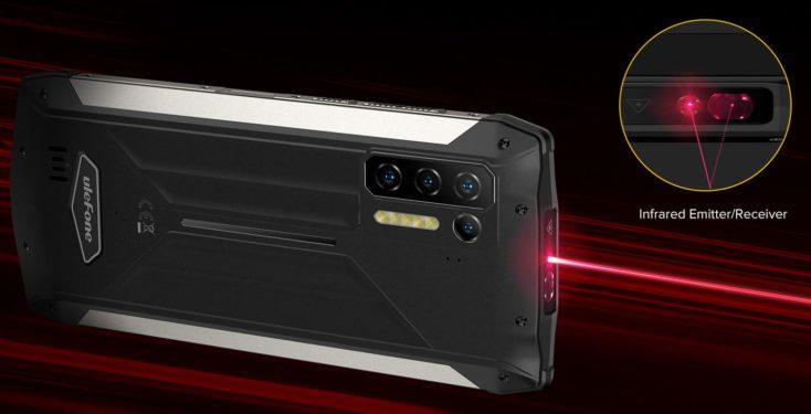 Ulefone Power Armor 13 Infrarot Sensor