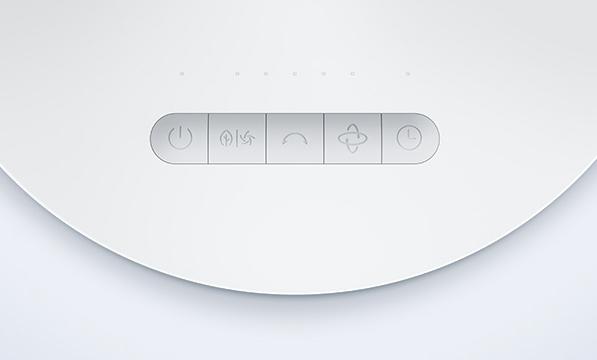 Xiaomi Mi Air Circulator Fan Bedienelement
