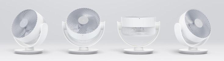 Xiaomi Mi Air Circulator Fan Tischventilator Rotation