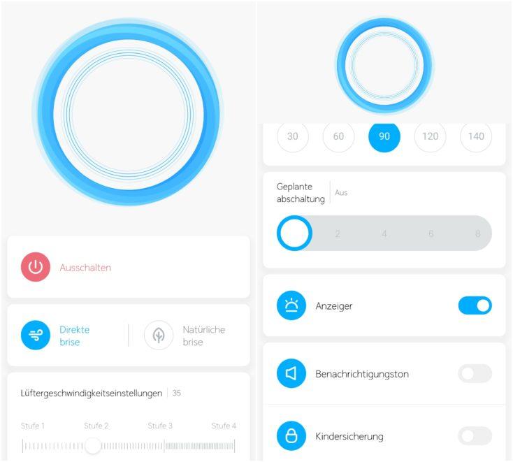 Xiaomi Mi Fan Pro Ventilator App