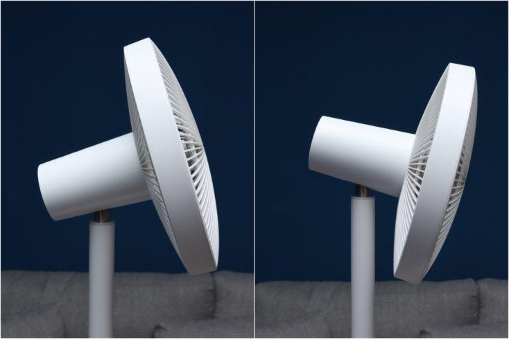Xiaomi Mi Smart Standing Fan 2 Neigung