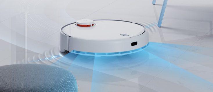 Xiaomi Mijia LDS 2 Saugroboter auf dem Boden