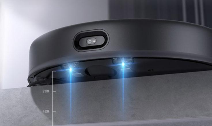 Xiaomi Mijia Saugroboter mit Absaugstation Abhangsensor