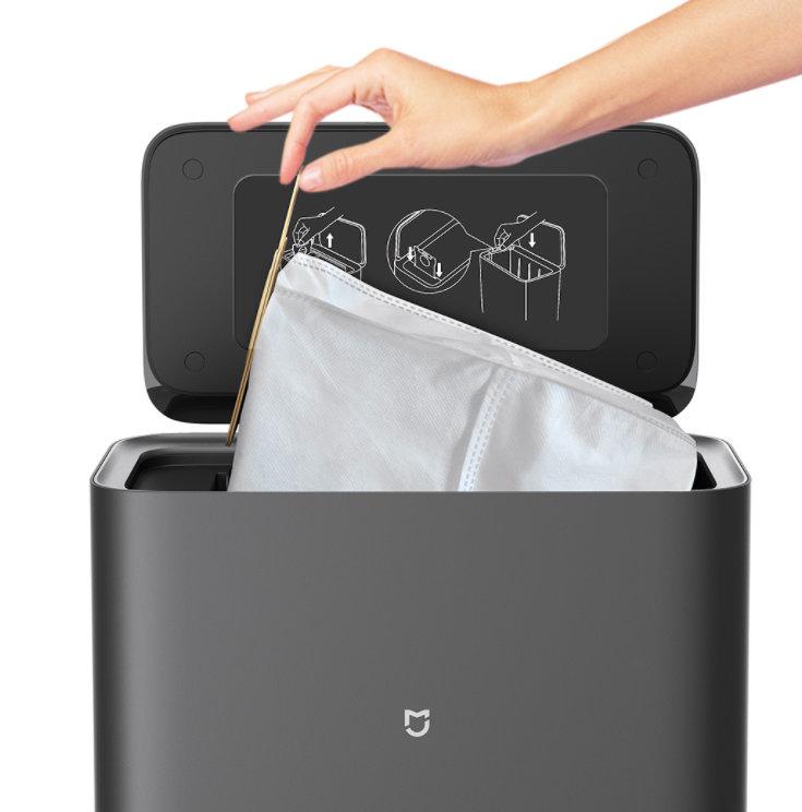 Xiaomi Mijia Saugroboter mit Absaugstation Staubbeutel