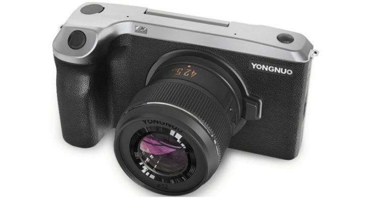 Yongnuo YN455 Android-Systemkamera Objektiv