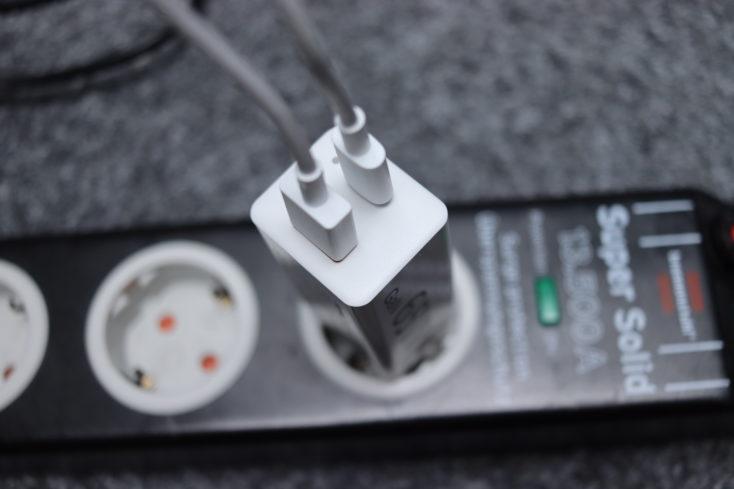 hama 65W USB C Ladegeraet Benutzung