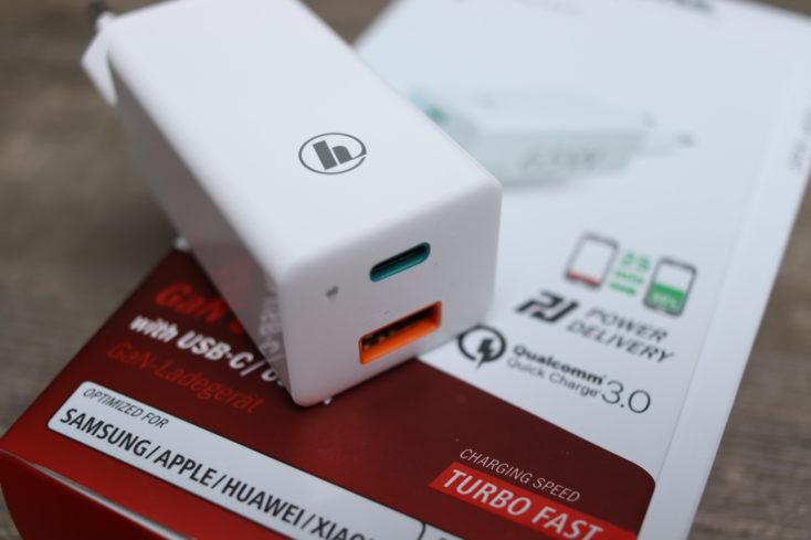 hama 65W USB-C Ladegeraet Ports