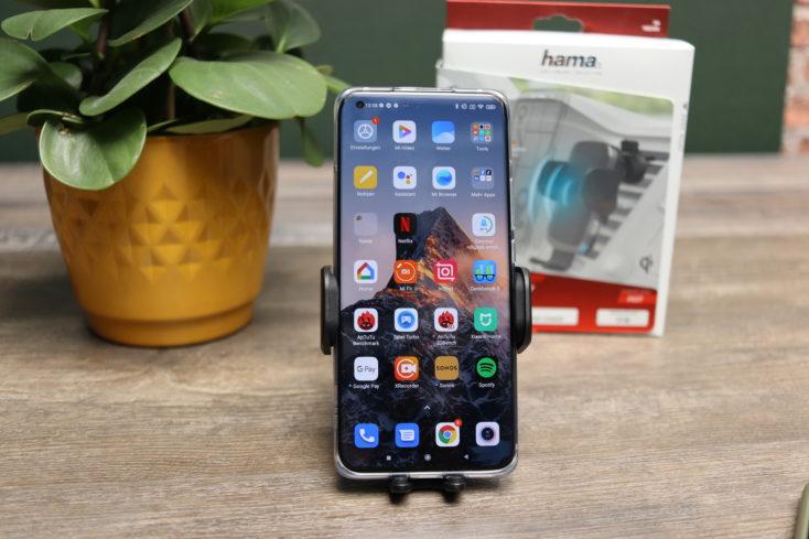 hama KFZ Qi-Ladegeraet Smartphone