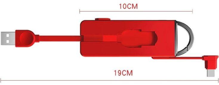 3in1 Ladegerät Maße