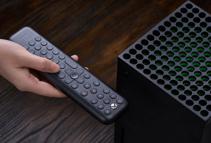 8Bitdo Media Remote XBOX Series X schwarz