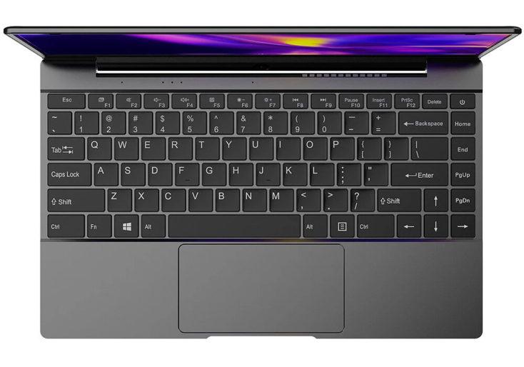 Alldocube GT Book Notebook Tastatur mit QWERTY-Layout