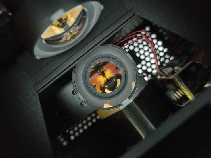 Anycubic Photon Ultra DLP 3D Drucker Innenraum