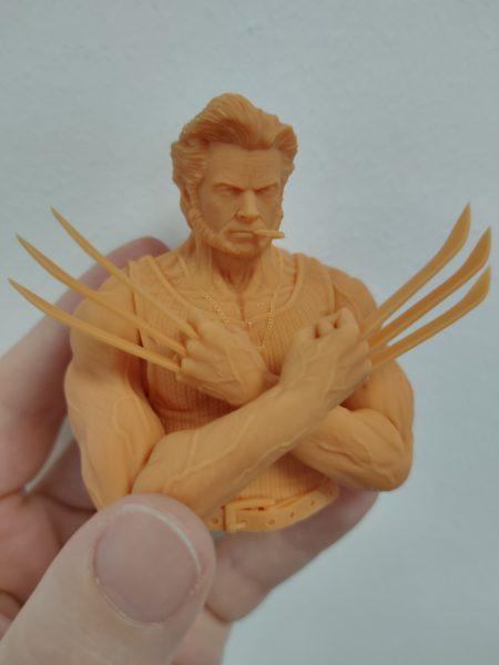 Anycubic Photon Ultra Wolverine Testdruck 3