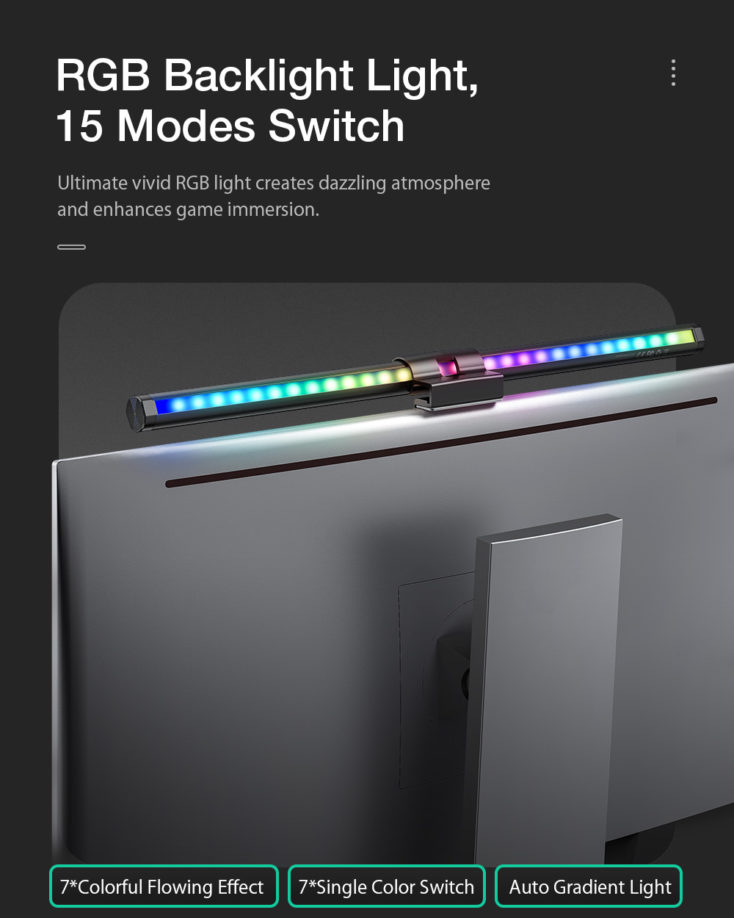 BlitzWolf BW-CML2 RGB Hintergrundbeleuchtung