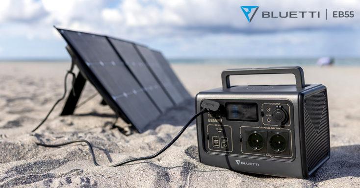 Bluetti EB55 Powerstation Produktbild