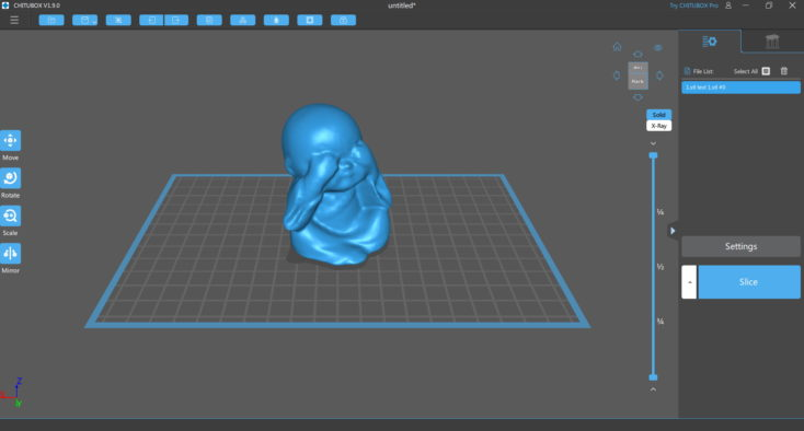 CR Studio Chitubox Screenshot 07